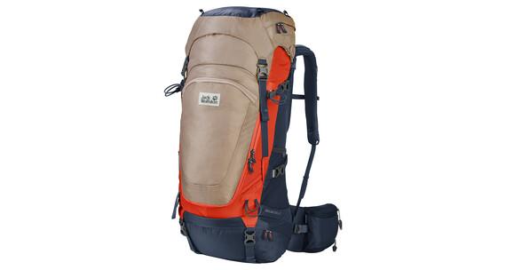 Jack Wolfskin Highland Trail 42 Backpack gravel
